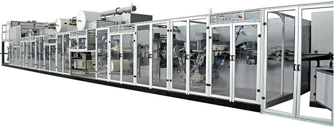 Super absorbant underpad making production line (CD200-SV)